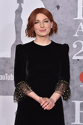 February 20, 2019 - London, United Kingdom of Great Britain and Northern Ireland - Alice Levine arriving at The BRIT Awards 2019 at The O2 Arena on February 20, 2019 in London, England  (Credit Image: © Famous/Ace Pictures via ZUMA Press)