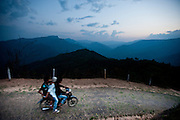 Most people in the Naga Hills travel by foot, but more and more people are getting around on 125cc motorbikes to get around. The influx of motorbikes has helped connect the Naga Hills to the Burmese economy, planting the seeds for development.