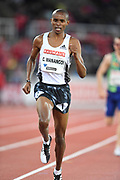 George Manangoi (KEN) places eighth in the 1,500m in 3:43.83during the Bauhaus-Galan in a IAAF Diamond League meet at Stockholm Stadium in Stockholm, Sweden on Thursday, May 30, 2019. (Jiro Mochizuki/Image of Sport)