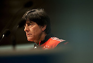 Germany manager Joachim Low during a press conference at Maracana Stadium, Rio de Janeiro<br /> Picture by Stefano Gnech/Focus Images Ltd +39 333 1641678<br /> 12/07/2014