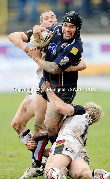 Pix: Chris Mangnall/SWpix.com, Rugby League, Super League. 27/04/08  Bradford Bull's v Wigan Warriors<br />