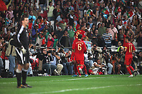 20091010: LISBON, PORTUGAL - Portugal vs Hungary: World Cup 2010 Qualifying Match. In picture: Portuguese Players. PHOTO: Carlos Rodrigues/CITYFILES