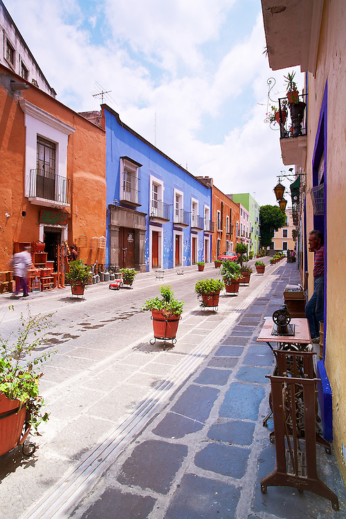 The quiet and charm of Los Sapos, Puebla, México.