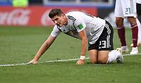 FUSSBALL WM 2018   Vorrunde Gruppe F -- Deutschland - Mexiko   17.06.2018 Mario Gomez  (Deutschland)