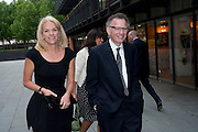 ELIZABETH MURDOCH; BARON GOULD OF BROOKWOOD;  Summer party hosted by Rupert Murdoch. Oxo Tower, London. 17 June 2009