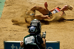 Bianca Kappler of Germany competes in the Womens Long Jump Qualifying during day one of the 20th European Athletics Championships at the Olympic Stadium on July 27, 2010 in Barcelona, Spain. (Photo by Vid Ponikvar / Sportida)