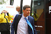 Bristol Rovers Manager Darrell Clarke arrives at the Pirelli Stadium during the EFL Sky Bet League 1 match between Burton Albion and Bristol Rovers at the Pirelli Stadium, Burton upon Trent, England on 13 October 2018.