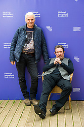 Pictured: Kjell Ola Dahl and Denzil Meyrick<br /> <br /> Kjell Ola Dahl (born 4 February 1958) is a Norwegian writer, who is sometimes known professionally as K. O. Dahl.<br /> <br /> His writing career began with the publishing of Dødens Investeringer (Lethal Investments) in 1993 and he has subsequently authored more than a dozen novels, many short stories, several non-fiction books, and co-written two screenplays with the writer/director Hisham Zaman.<br /> <br /> He is best known for his eleven Nordic noir crime novels which feature his Oslo detectives Frølich and Gunnarstranda. <br /> <br /> Denzil Meyrick is an author. Prior to that he served as a police officer with Strathclyde Police then a manager with Springbank Distillery in Campbeltown, Argyll. Since 2012 Denzil Meyrick has worked as a writer of Scottish crime fiction novels.