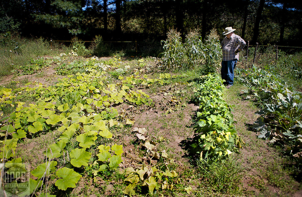 Family Garden in Waushara County, Wisconsin.
