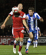 Picture by David Horn/Focus Images Ltd +44 7545 970036.16/10/2012.Scott Wagstaff of Leyton Orient during the npower League 1 match at the Matchroom Stadium, London.