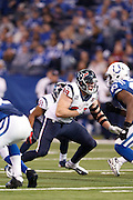 INDIANAPOLIS, IN - DECEMBER 30: J.J. Watt #99 of the Houston Texans lines up against the Indianapolis Colts during the game at Lucas Oil Stadium on December 30, 2012 in Indianapolis, Indiana. The Colts defeated the Texans 28-16. (Photo by Joe Robbins) *** Local Caption *** J.J. Watt