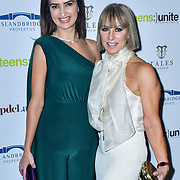 Alina Blinova, Karen Millen attend Teens Unite - Tales Untold at Rosewood London on 29 November 2019, London, UK