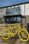 BENTONVILLE, AR - FEBRUARY 15:  Pedaler's Pub in Bentonville, Arkansas.<br /> CREDIT Wesley Hitt for The Wall Street Journal<br /> WALMART-Bentonville Scene-setters
