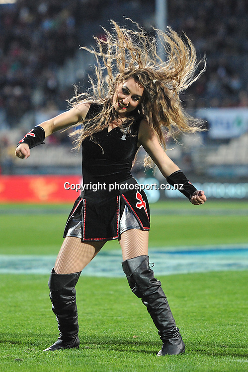 A Maiden in the Super Rugby game, Crusaders v Hurricanes, 28 March 2014. Photo:John Davidson/photosport.co.nz