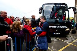 Bristol City head coach Lee Johnson arrives at Elland Road for the Sky Bet Championship fixture against Leeds United - Mandatory by-line: Robbie Stephenson/JMP - 24/11/2018 - FOOTBALL - Elland Road - Leeds, England - Leeds United v Bristol City - Sky Bet Championship