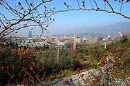 Terni, Italy 5 febbraio 2004: Vista acciaierie Acciai Speciali Terni.