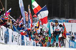 Quentin Fillon Maillet (FRA) during the Mixed Relay 2x 6 km / 2x 7,5 km at day 3 of IBU Biathlon World Cup 2019/20 Pokljuka, on January 23, 2020 in Rudno polje, Pokljuka, Pokljuka, Slovenia. Photo by Peter Podobnik / Sportida