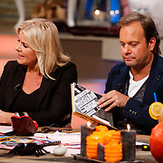 NLD/Hilversum/20121028 - Uitzending Life4You met Carlo Boszhard en Irene Moors,