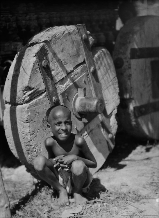Wheel, Pondicherry, India, 1929