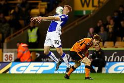Rory Gaffney of Bristol Rovers controls the ball - Mandatory by-line: Robbie Stephenson/JMP - 19/09/2017 - FOOTBALL - Molineux - Wolverhampton, England - Wolverhampton Wanderers v Bristol Rovers - Carabao Cup