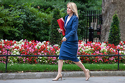 © Licensed to London News Pictures. 10/07/2018. London, UK. Secretary of State for Work and Pensions Esther McVey arrives on Downing Street for the Cabinet meeting. Photo credit: Rob Pinney/LNP