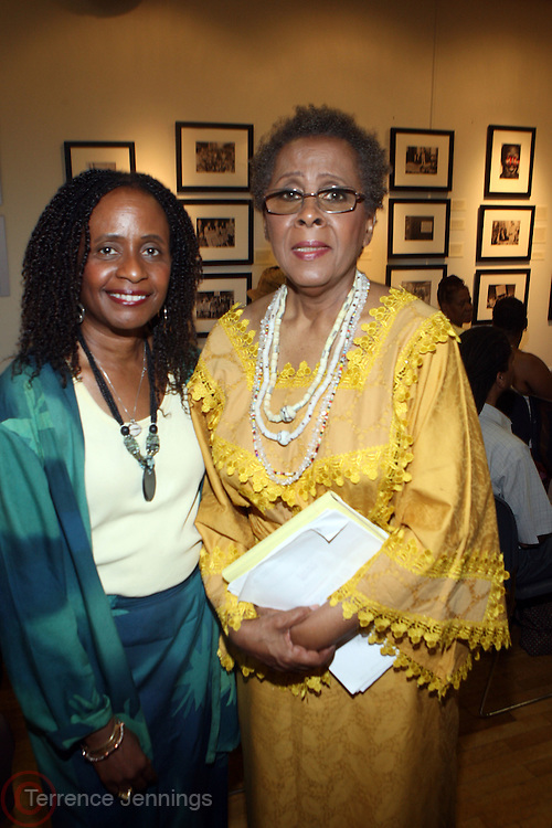 17 July 2010- Harlem, NY- l to r: Dr Brenda Greene and Camille Yarbrough at Howard Dodson's Retirement Ceremony celebrating 25 Years of Service to the The New York Public Library held at The Schromburg Center during the Harlem Book Fair on July 17, 2010. Photo Credit: Terrence Jennings/TerrenceJennings.com