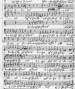 William Byrd: Sing joyfully unto God our strength. Copyist: Thomas Tudway.