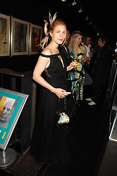 CELIA VON BISMARCK at Andy & Patti Wong's Chinese new Year party held at County Hall and Dali Universe, London on 26th January 2008.<br />