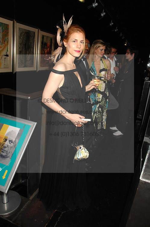 CELIA VON BISMARCK at Andy & Patti Wong's Chinese new Year party held at County Hall and Dali Universe, London on 26th January 2008.<br /><br />NON EXCLUSIVE - WORLD RIGHTS (EMBARGOED FOR PUBLICATION IN UK MAGAZINES UNTIL 1 MONTH AFTER CREATE DATE AND TIME) www.donfeatures.com  +44 (0) 7092 235465