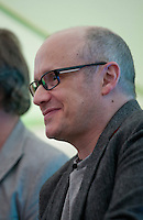 Director Lenny Abrahamson at the Directors Talk Books event at the Dalkey Book Festival, Dalkey Village, Dublin, Ireland, Friday 12th June 2015