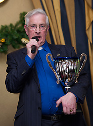 LIVERPOOL, ENGLAND - Friday, November 26, 2010: Everton FC chaplain chaplain Harry Ross during a Health Through Sport Charity Dinner at the Devonshire House. (Photo by David Rawcliffe/Propaganda)