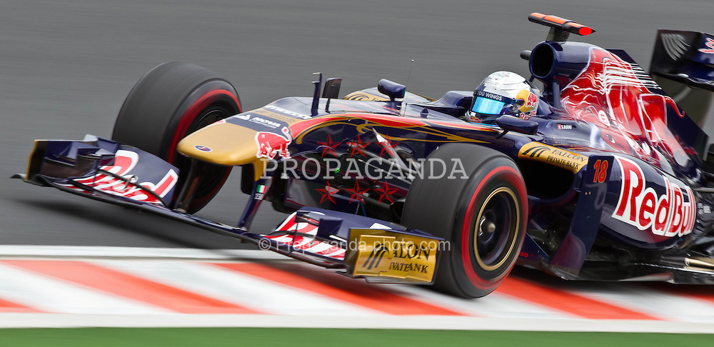 29.07.2011, Hungaroring, Budapest, HUN, F1, Grosser Preis von Ungarn, Hungaroring, im Bild Sebastien Buemi (SUI), Scuderia Toro Rosso // during the Formula One Championships 2011 Hungarian Grand Prix held at the Hungaroring, near Budapest, Hungary, 2011-07-29, EXPA Pictures © 2011, PhotoCredit: EXPA/ J. Feichter
