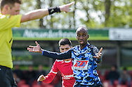 23-04-2016: Voetbal: Sportlust'46 v Zwaluwen: Woerden<br /> <br /> Marcelo Gomes da Veiga van vv Zwaluwen<br /> Foto: Gertjan Kooij