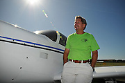 20090926  -  Rome, Ga :  Over two dozen Mooney airplane pilots including Treasure Coast, Fla. pilot Steve Craft in N5827Q, an E model, brought their aviation speedsters to Rome, Georgia, on Saturday, October 3, 2009 for an informal fly-in, bar-b-que and social outing as part of the Southeast Mooney Owners group. The event was hosted by Mooniac Magazine (www.mooniac.us) and Cole Aviation and featured hamburgers, hot dogs, home-baked side dishes, aviaition portrait photos and a clear air visibility unlimited day for the 29 Mooneys, their owners and family.     David Tulis         dtulis@gmail.com    ©David Tulis 2009