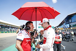 July 8, 2018 - Silverstone, Great Britain - Motorsports: FIA Formula One World Championship 2018, Grand Prix of Great Britain, .#16 Charles Leclerc (MCO, Alfa Romeo Sauber F1 Team) (Credit Image: © Hoch Zwei via ZUMA Wire)