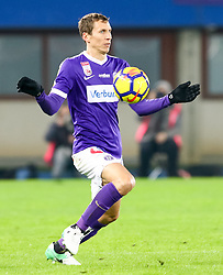 10.02.2018, Ernst Happel Stadion, Wien, AUT, 1. FBL, FK Austria Wien vs Lask, 22. Runde, im Bild Florian Klein (FK Austria Wien) // during Austrian Football Bundesliga Match, 22nd Round, between FK Austria Vienna and Lask at the Ernst Happel Stadion, Vienna, Austria on 2018/02/10. EXPA Pictures © 2018, PhotoCredit: EXPA/ Alexander Forst