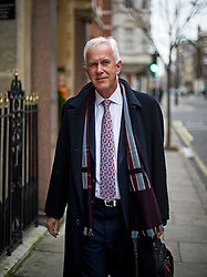 © Licensed to London News Pictures. 12/01/2016. London, UK. Former Environment Agency chairman Sir PHILIP DILLEY leaving  his London home the morning after he resigned. Sir Dilley was heavily criticised for remaining in Barbados on holiday while large parts of the UK were hit by heavy flooding. Photo credit: Ben Cawthra/LNP