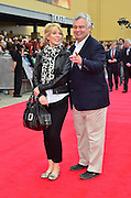 31.MARCH.2012. HERTFORSHIRE<br /> <br /> RUTH LANGSFORD AND EAMONN HOLMES ATTENDS THE GRAND OPENING OF THE WARNER BROS. STUDIO TOUR IN LONDON: THE MAKING OF HARRY POTTER IN WATFORD, HERTFORDSHIRE.<br /> <br /> BYLINE: EDBIMAGEARCHIVE.COM<br /> <br /> *THIS IMAGE IS STRICTLY FOR UK NEWSPAPERS AND MAGAZINES ONLY*<br /> *FOR WORLD WIDE SALES AND WEB USE PLEASE CONTACT EDBIMAGEARCHIVE - 0208 954 5968*