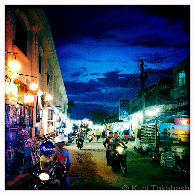 Siem Reap in Cambodia in May 2012..Photo by Kuni Takahashi