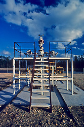 Christmas tree is an assembly of valves, spools, and fittings used for an oil well.