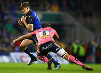 Rugby Union - 2017 / 2018 European Rugby Champions Cup - Pool Three: Leinster vs. Exeter Chiefs<br /> <br /> Leinster's Garry Ringrose in action against Exeter's Sam Skinner, at Aviva Stadium, Dublin.<br /> <br /> COLORSPORT/KEN SUTTON