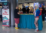 KELOWNA, CANADA - OCTOBER 04:  Promotions at the Kelowna Rockets game on October 04, 2017 at Prospera Place in Kelowna, British Columbia, Canada.  (Photo By Cindy Rogers/Nyasa Photography,  *** Local Caption ***