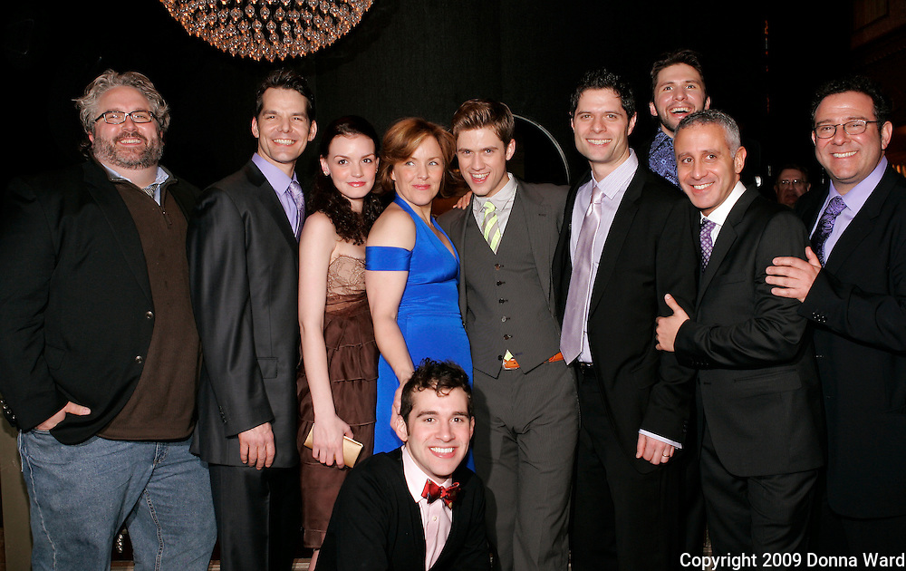 Brian Yorkey, J. Robert Spencer, Jennifer Damiano, Alice Ripley, AaronTveit, Adam