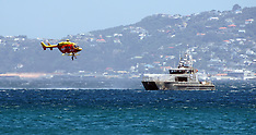 Wellington-Man rescued by Westpac Helicopter from Wellington Harbour