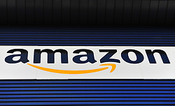File photo dated 25/11/15 of an Amazon sign. Amazon has added live and on-demand TV channels to its Prime subscription service in the UK for the first time.