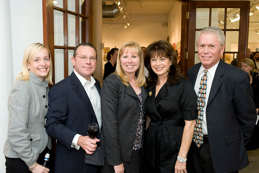 Photograph from the 2012 Art on the Avenue Preview Party on Thursday, November 8, 2012 at the Winter Street Studios.
