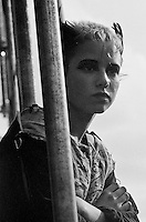 Punk female, Alexandra Palace, London 15-06-1980