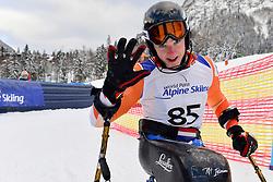Super Combined and Super G, KAMPSCHREUR Jeroen, LW12-2, NED at the WPAS_2019 Alpine Skiing World Championships, Kranjska Gora, Slovenia