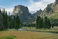 Squaretop Mountain Bridger Wilderness, Wind River Range Wyoming