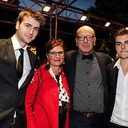 NLD/Utrecht/20120926- Nederlands Filmfestival 2012, NFF, Burny Bos en partner en zoons
